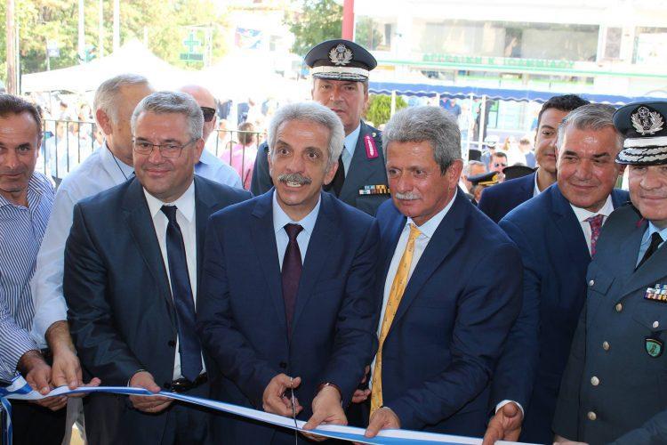 Εγκαινιάστηκε το νέο κτίριο της Αστυνομικής Διεύθυνσης Δράμας