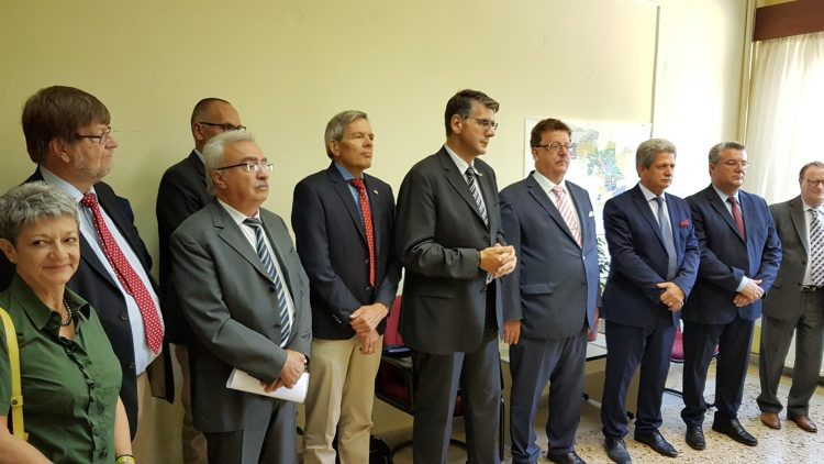 Γερμανική αντιπροσωπεία στον Δήμο Δράμας