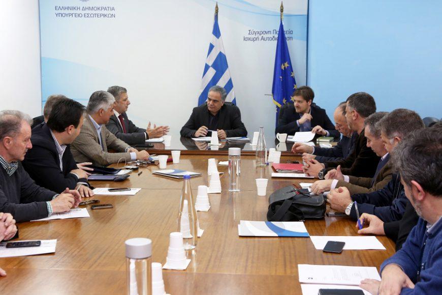 Συνάντηση Προέδρου και  ΔΣ ΚΕΔΕ με τον υπουργό Εσωτερικών Π. Σκουρλέτη