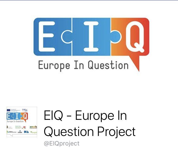 """Πρόσκληση σε συνέδριο για το πρόγραμμα """"Europe In Question"""""""