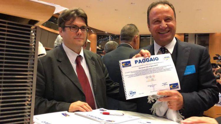 """Η Δ.Ε.Π.ΑΝ στην Απονομή του τίτλου """"Ευρωπαϊκή Πόλη Αθλητισμού"""" για το 2019 στον Δήμο Παγγαίου"""