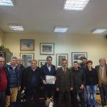 Επίσκεψη Δημάρχου Σάμου στον Δήμαρχο Καστοριάς