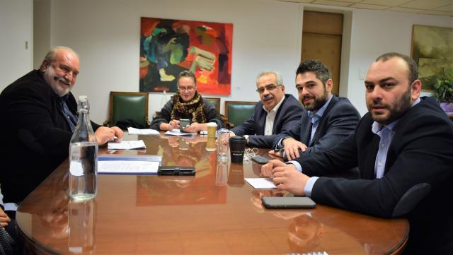 Συνάντηση Δημάρχου Λοκρών με τον Υφυπουργό Οικονομίας