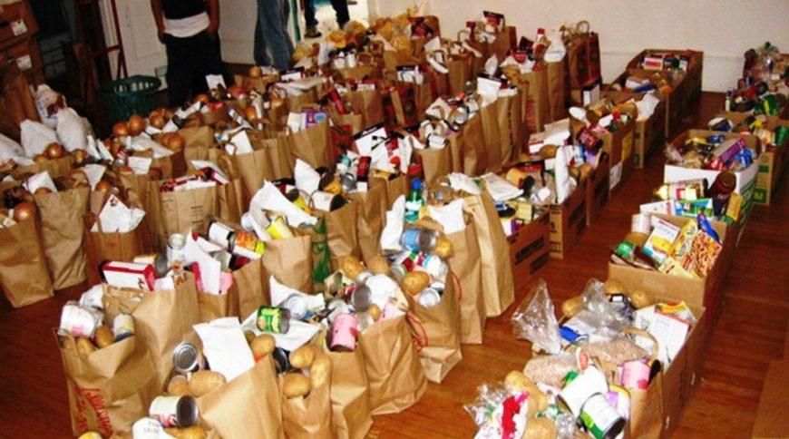 Διανομή επισιτιστικής βοήθειας