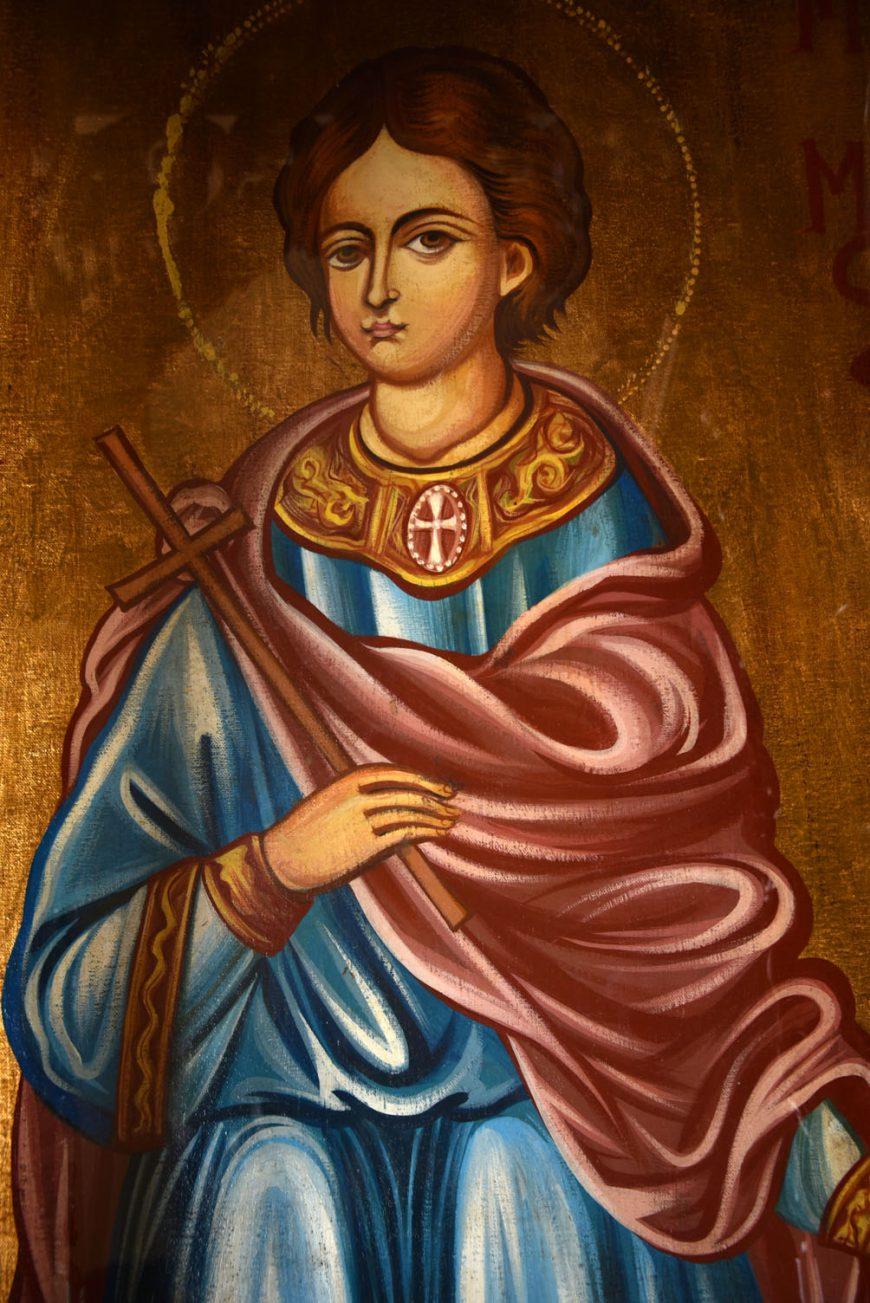 Περιφορά της εικόνας και Μέγας Πανηγυρικός Εσπερινός στην εκκλησία του Αγίου Μάμαντος