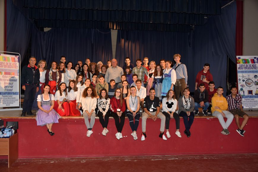 Ευρωπαίοι μαθητές φιλοξενούμενοι του ΓΕΛ Νέων Μουδανιών στα πλαίσια προγράμματος Erasmus+