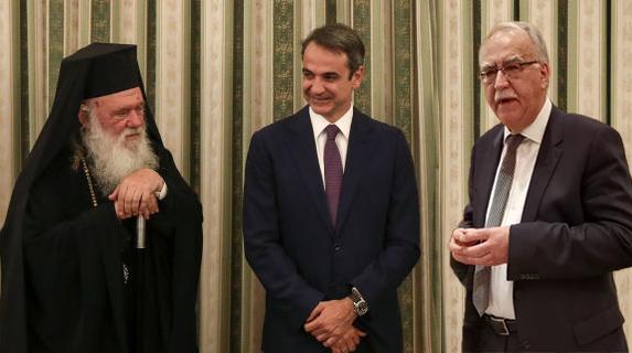 Ο Δήμαρχος Καλαβρύτων στον Αρχιεπίσκοπο και στον Πρωθυπουργό