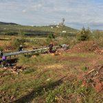 Διανομή ξύλων σε δικαιούχους του Κοινωνικού Παντοπωλείου