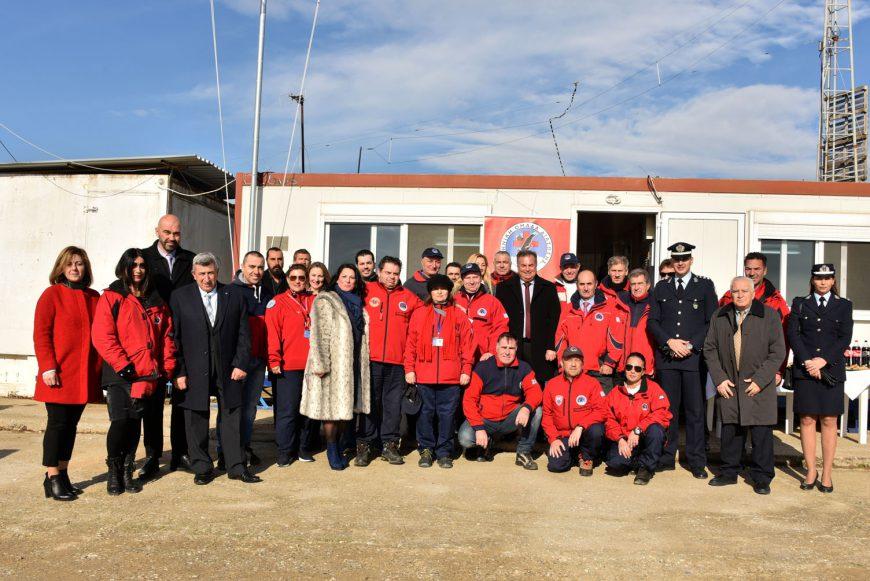 Κοπή Βασιλόπιτας της Ελληνικής Ομάδας Διάσωσης Χαλκιδικής