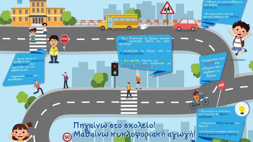 Πρόταση κυκλοφοριακής αγωγής με πρωτότυπο τρόπο