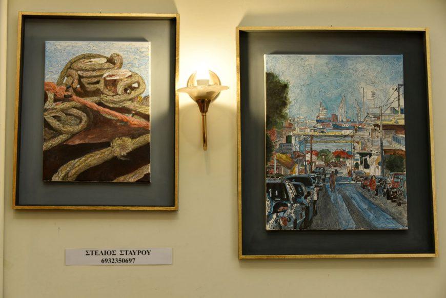 Ομαδική Έκθεση του Συλλόγου Καλλιτεχνών Εικαστικών Τεχνών Χαλκιδικής