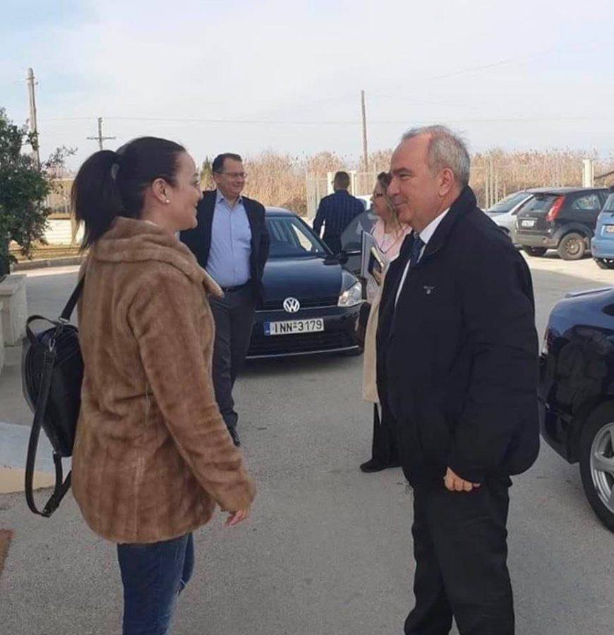 Συνάντηση Δημάρχου Νικολάου Σκουφά με τον Υφυπουργό Ανάπτυξης και Επενδύσεων