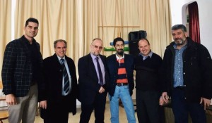 Συνάντηση με τον Γεράσιμο Χουλιάρα είχε ο Δήμαρχος Μαρωνείας-Σαπών