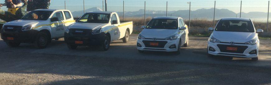 Με άλλα 4 νέα οχήματα ενισχύθηκε ο στόλος οχημάτων του Δήμου Τανάγρας