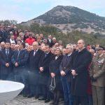 Ο Δήμαρχος Καλαβρύτων Αθανάσιος στις εκδηλώσεις μνήμης για την επέτειο Ολοκαυτώματος στο Δομένικο Ελασσόνας