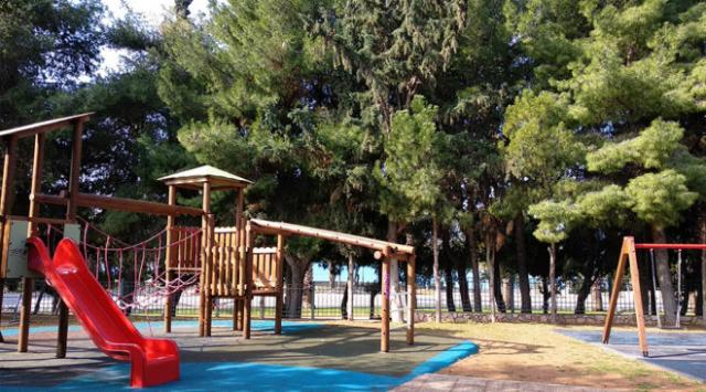 Παρεμβάσεις σε παιδικές χαρές του Δήμου Παγγαίου