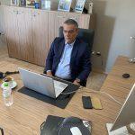 Στην τηλεδιάσκεψη για τις εκδηλώσεις «Ελλάδα 2021» συμμετείχε ο Δήμαρχος Τανάγρας, Βασίλης Περγάλιας